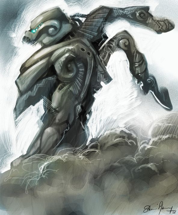 DSG 1403: Sci-Fi • ARMOR FORGED BY THE CLOUDWALKERS