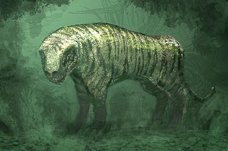 DSG 1396: Creature • REPTILIAN TIGER